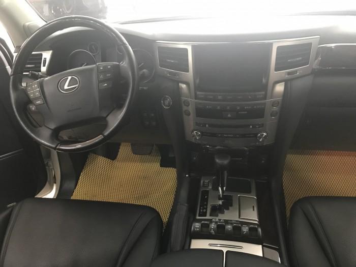 Bán Lexus LX570 nhập Mỹ,màu trắng , đăng ký lần đầu năm 2015, tư nhân,chính chủ,thuế sang tên 2%
