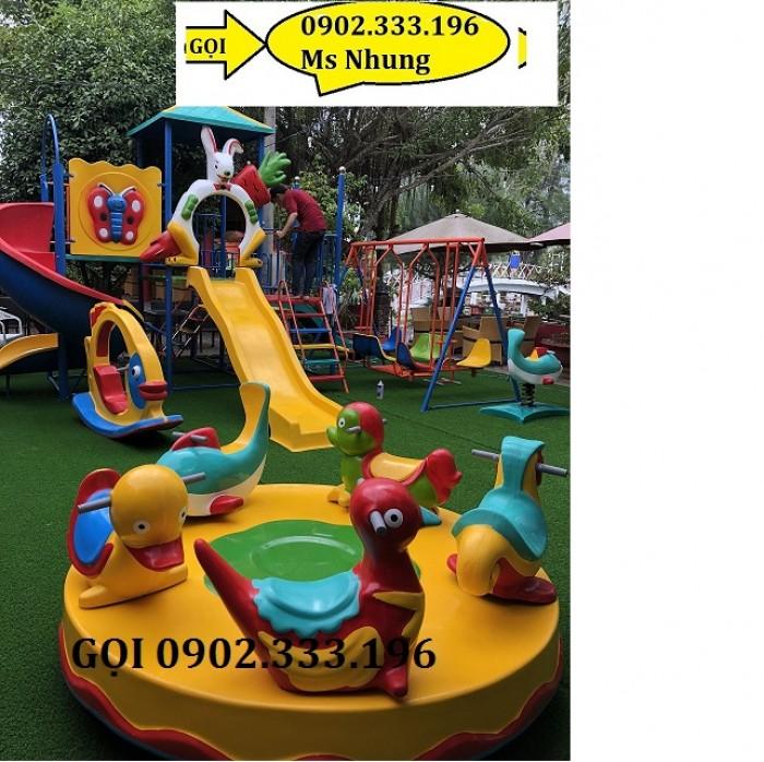Bán đồ chơi cầu trượt cho bệnh viện, khu vui chơi trẻ em bệnh viện5