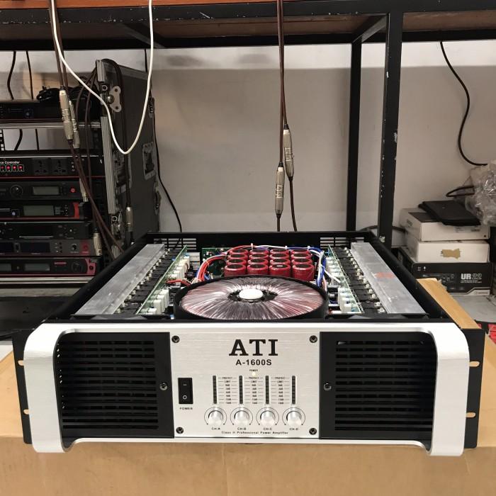 Đẩy 4 kênh ATI 1600S công suất khủng, công nghệ tiên tiến
