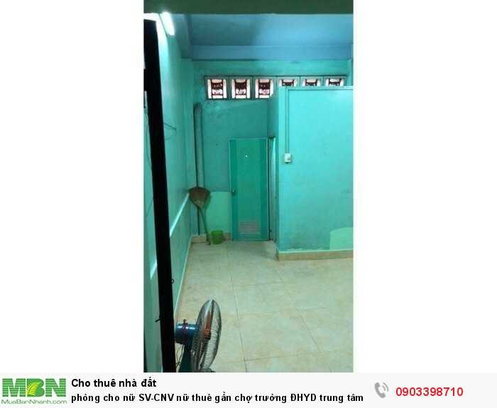Phòng cho nữ SV-CNV nữ thuê gần chợ trường ĐHYD trung tâm Q5