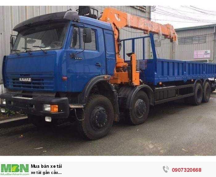 xe tải gắn cẩu...