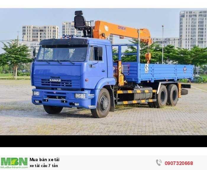 xe tải cẩu 7 tấn