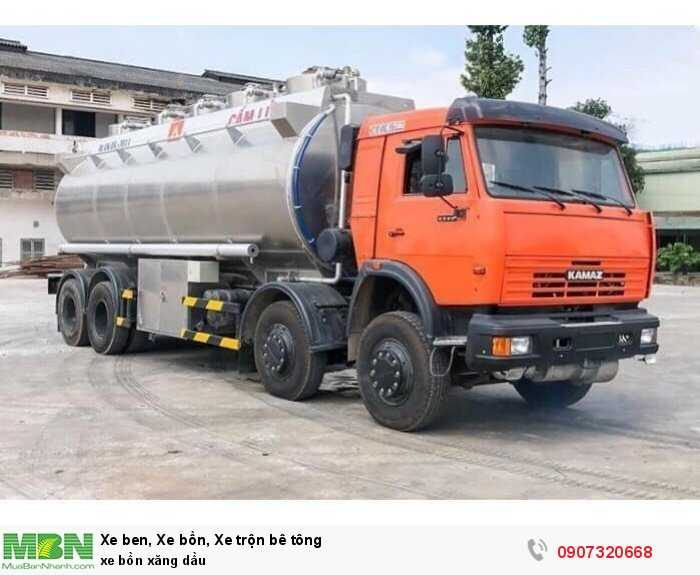 xe bồn xăng dầu