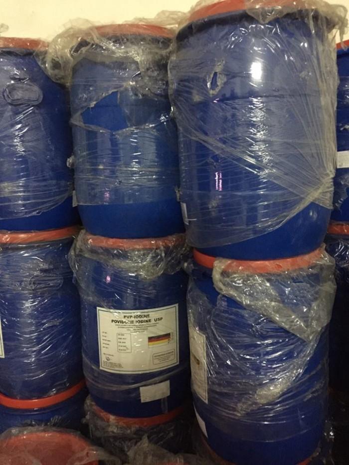 Povidone iodine, pvp iodine, iodine bột, diệt khuẩn, iod nguyên liệu1