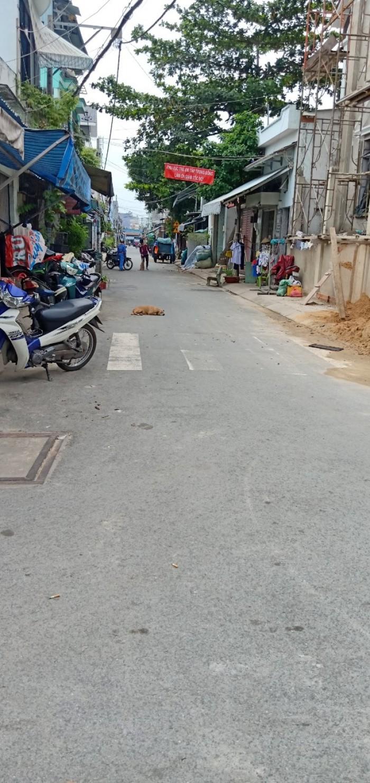 bán nhà HXH đường Dương Văn Dương, 5x12m, trệt 1 lầu