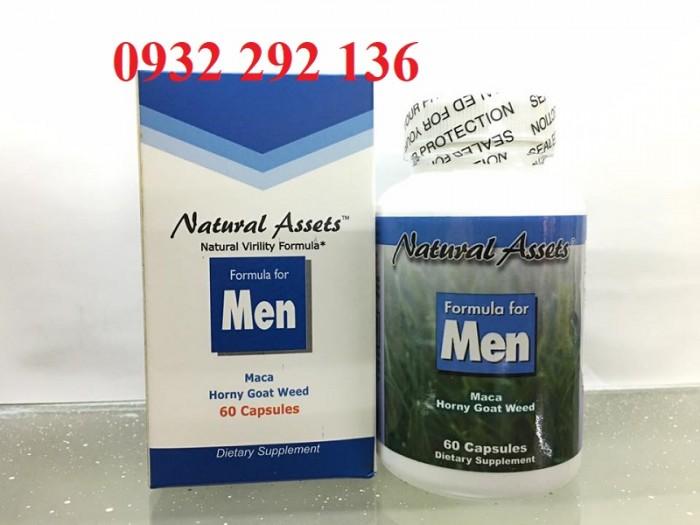 Foemula For Men giúp tăng cường sinh lý nam, ngăn ngừa suy giảm tình dục nam, hỗ trợ cải thiện sức rối loạn sinh lý nam. Hộp 60 viên. Giá bán: 585.000đ/ hộp. Liên hệ 0932 292 136 để được tư vấn và giao hàng toàn quốc0