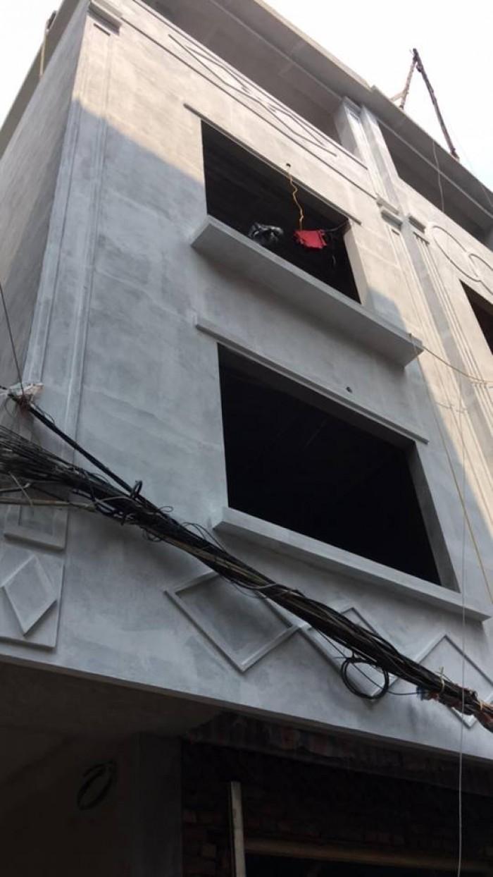 Gần cây xăng ngã tư Đại Mỗ-Vạn Phúc-Lê Văn Lương 34m2x4 tầng