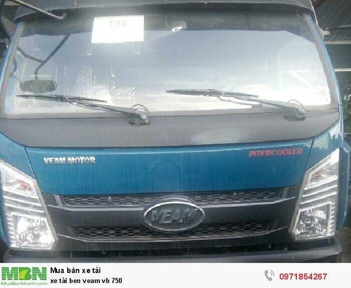 Xe tải ben Veam vb 750