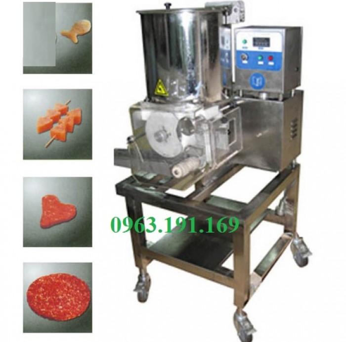 Máy tạo hình chả cá, bò, gà, hamburger1