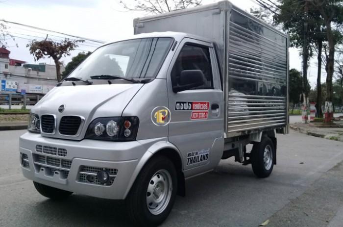 Xe Thái Lan thùng kín | Bán xe tải thái lan trả góp lãi suất thấp