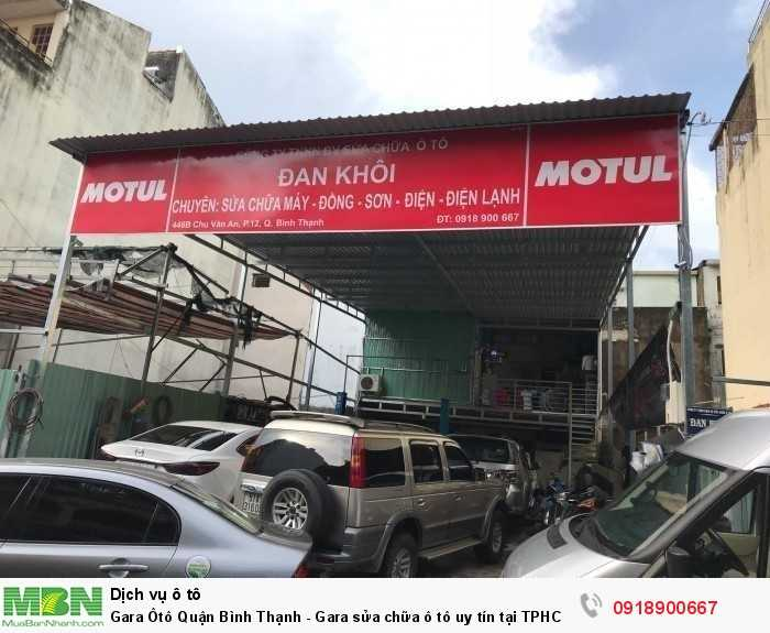 Gara Ôtô Quận Bình Thạnh - Gara sửa chữa ô tô uy tín tại TPHCM