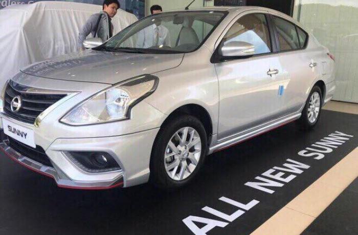 Nissan Sunny XVG 2018 màu trắng, có sẵn giao ngay, Hỗ trợ Trả góp 80% 1