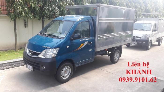 Bán xe ôtô tải THACO TOWNER 990 0.99 tấn, xe mới 100%, hỗ trợ trả góp đến 70%.