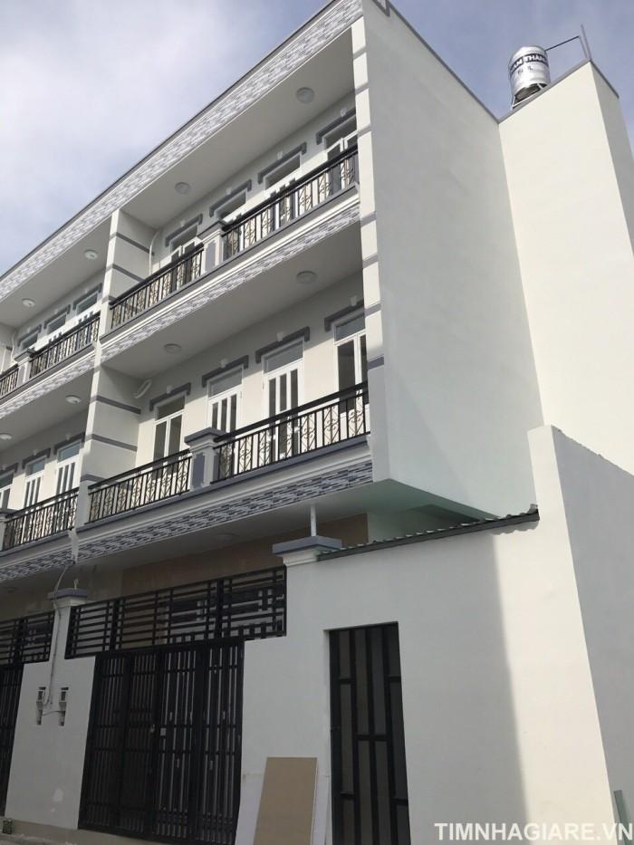 Bán nhà đường Nguyễn Bình, Nhà Bè, Khu Ủy Ban, hẻm xe hơi, DT 114m2, 2 lầu 4PN