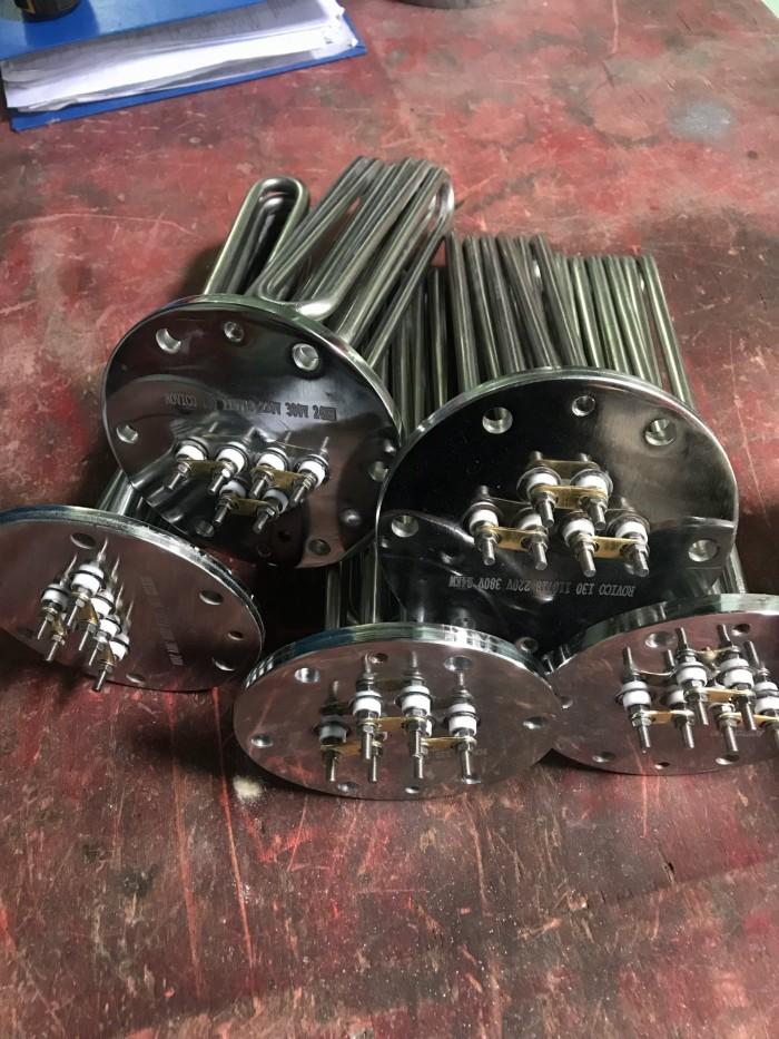 Điện trở đun nước nồi hơi mặt bích 150 - 9KW/18KW/24KW/50KW0