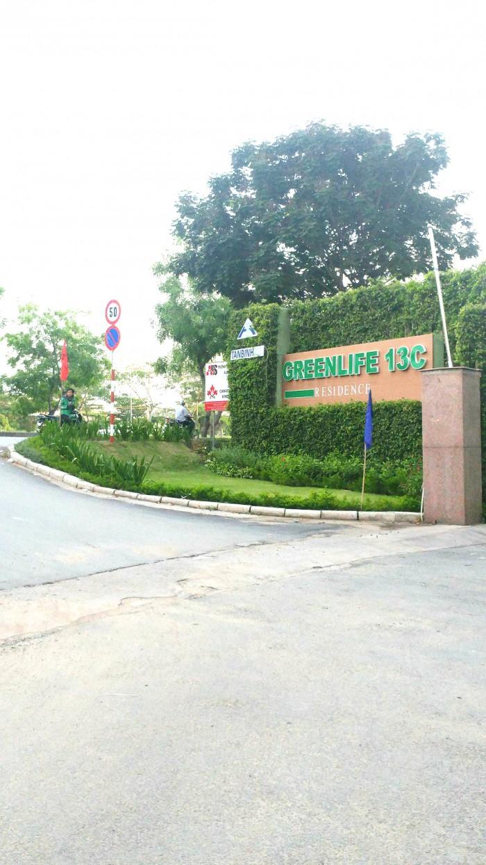 Bán lô góc vị trí thương mại đất nền 13C Greenlife, 130m2, giá 39tr/m2, SHR