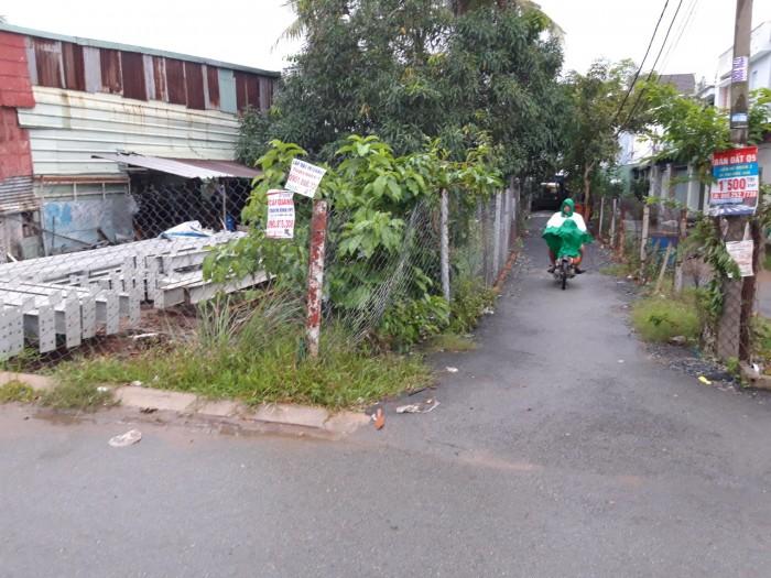 Bán gấp lô đất hẻm 96 đường Đình Phong Phú, 63.7m2