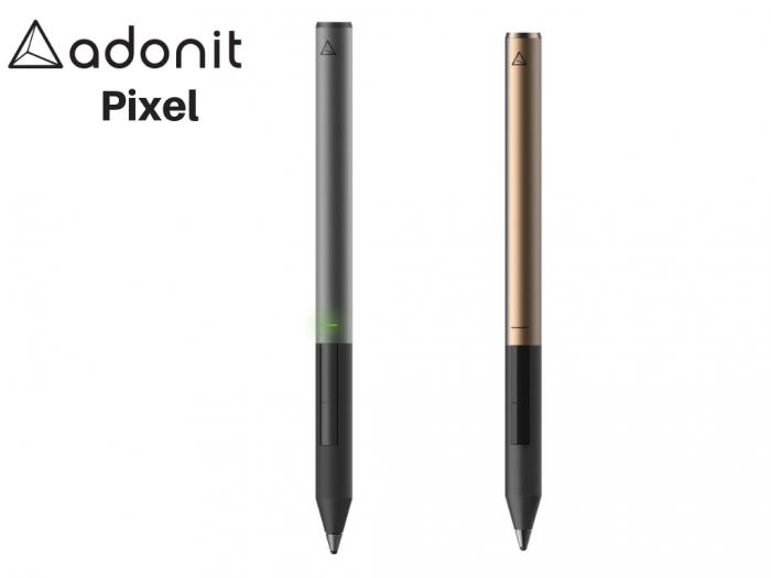 Adonit Jot Pixel là chiếc bút cao cấp nhất của Adonit kết nối với Ipad bằng công nghệ Bluetooth và Pixel Poin Tip cho độ chính xác và độ nhạy khi viết tuyệt vời