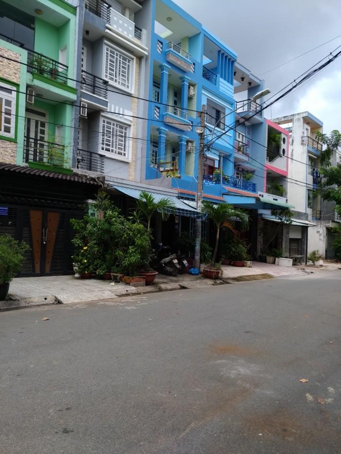Chính chủ bán nhà mặt tiền 1B BhH B Bình Tân dt 4x15m đúc 1 lầu