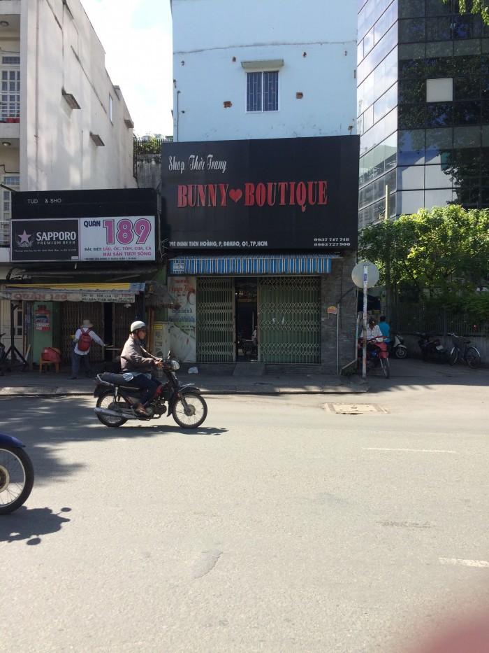 Căn góc MT Đinh Tiên Hoàng. 5.5x17 (tl)