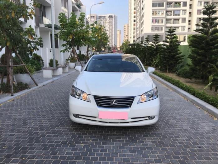 Em bán chiếc Lexus ES350 đời 2009 màu Trắng nhập Mỹ bản Full
