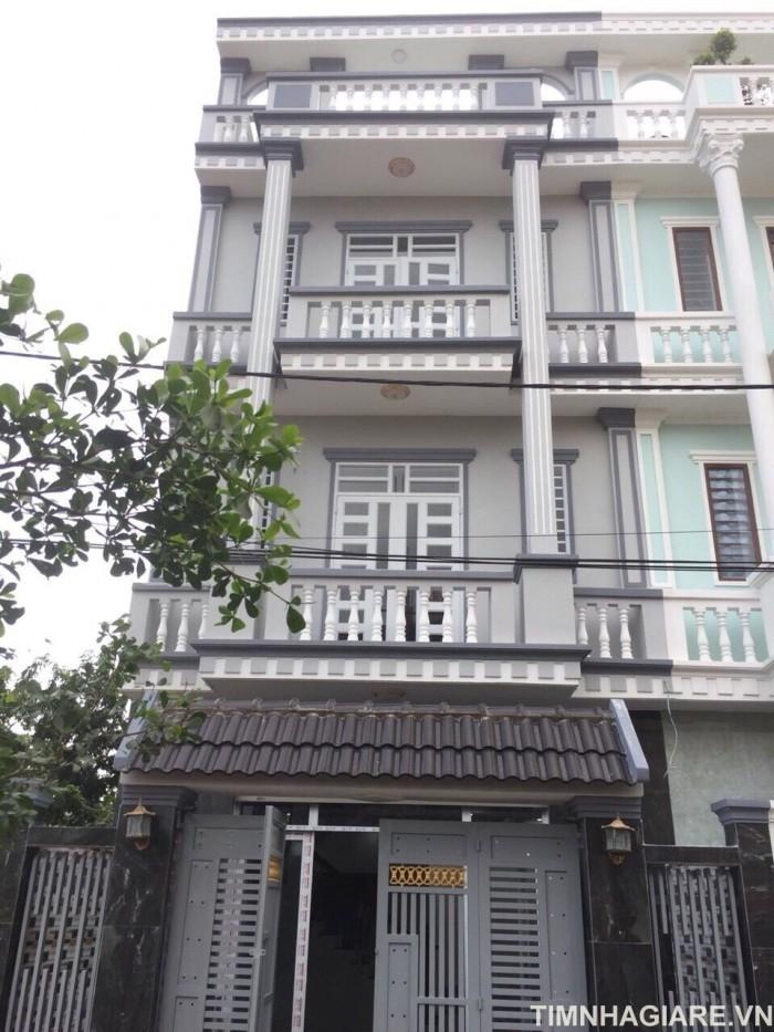 Bán nhà Huyện Nhà Bè, đường Đào Tông Nguyên, Phú Xuân, Nhà Bè, DT 88m2, 2 lầu sân thượng, 4Pn thoáng mát