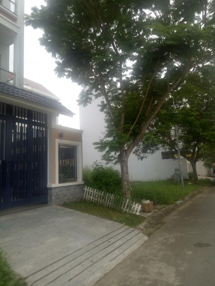 Bán lô góc đường chính số 7, đất nền KDC Conic Bình Chánh, giá 39tr/m2, 169m2, giá trị thương mại
