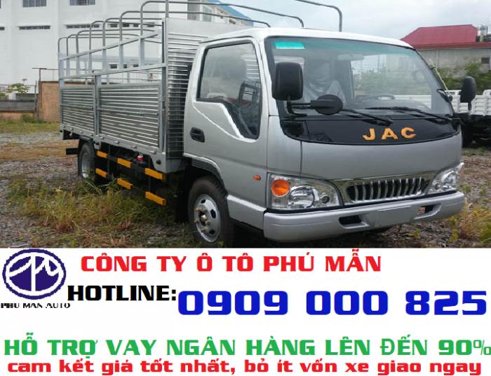 Xe tải Jac 2,4T động cơ Isuzu cao cấp giá bao nhiêu? liên hệ cho tổng đại lý chúng tôi