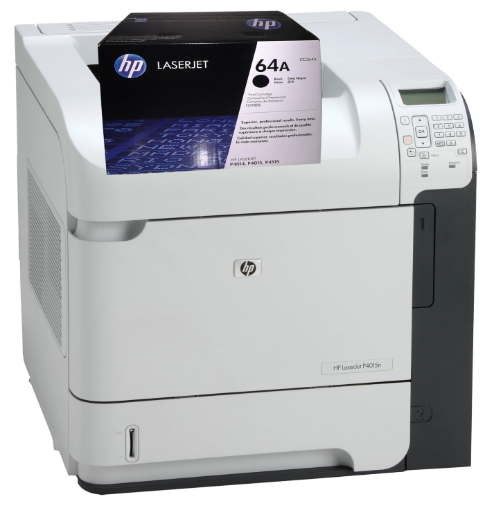 Hộp mực in HP 64A(CC364A) sử dụng cho các dòng máy : HP 4015/4015N/4015DN/ 4014/4014N /4014DN/4515N//4515TN/4515X. 0