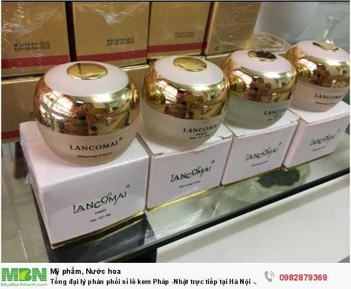 Tổng đại lý phân phối sỉ lẻ kem Pháp -Nhật trực tiếp tại  Hà Nội - Hải Phòng1