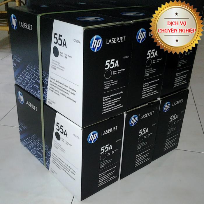 Sử dụng  mực in HP 55A chính hãng luôn mang đến những bản in bền màu, sắc nét, đáp ứng mọi nhu cầu in ấn, thiết kế cũng như lưu trữ của doanh nghiệp.4