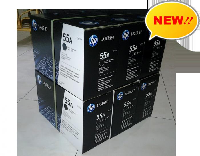 Sử dụng  mực in HP 55A chính hãng luôn mang đến những bản in bền màu, sắc nét, đáp ứng mọi nhu cầu in ấn, thiết kế cũng như lưu trữ của doanh nghiệp.3