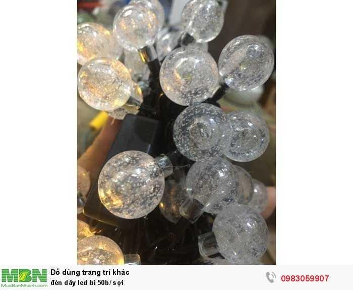Đèn dây led bi 50b/ sợi1