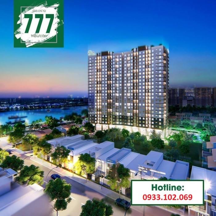 VISTA RIVERSIDE-Căn hộ ven sông Sài Gòn GĐ1 chỉ 777tr/căn,CK 4% + 10 Chỉ vàng