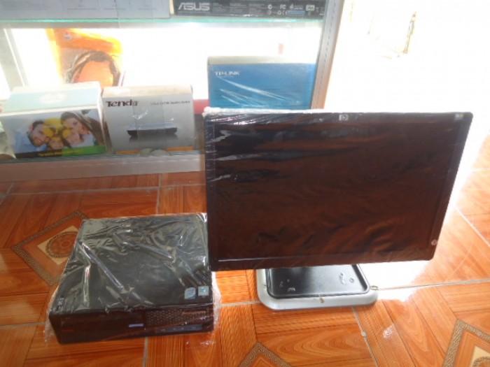 Bộ máy đồng bộ và màn hình HP 20in chữ nhật5