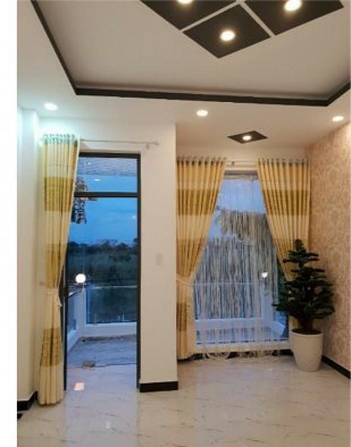 Bán Nhà đẹp hẻm 6m, Khu Phố 7, Huỳnh Tấn Phát, TT Nhà Bè, DT 4x20m, giá bán 4.05 tỷ