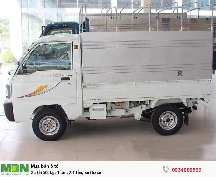Xe tải 500kg, 1 tấn, 2.4 tấn, xe thaco