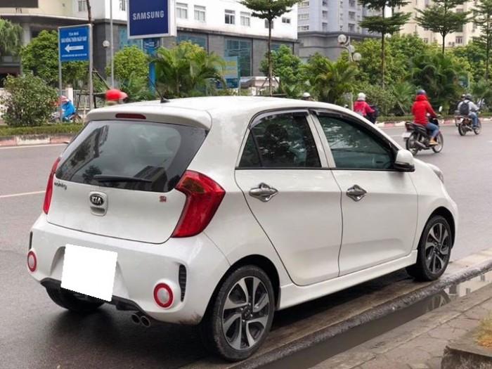 Bán xe Kia Morning 1.2 đời 2016, số sàn, màu trắng tinh ngọc trinh
