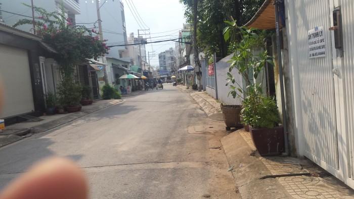 Cho thuê nhà 3,5 tấm  hẻm xe hơi đường Đất Mới - Bình Tân