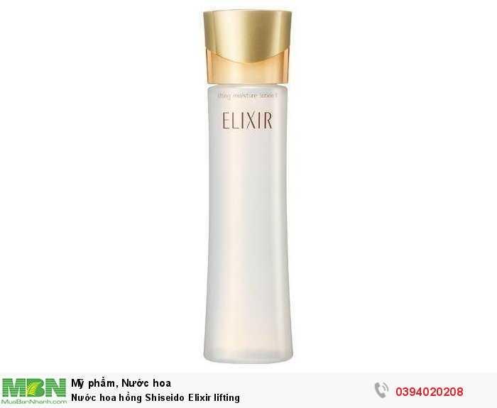 Nước hoa hồng Shiseido Elixir lifting