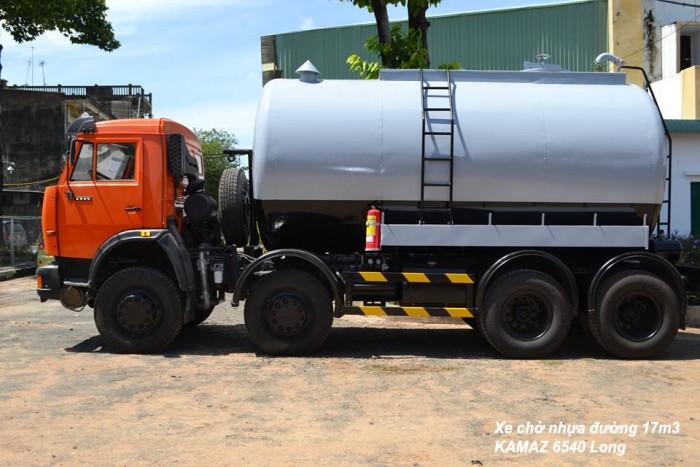 xe bồn nhựa đường nhập khẩu,bồn 17.2m3