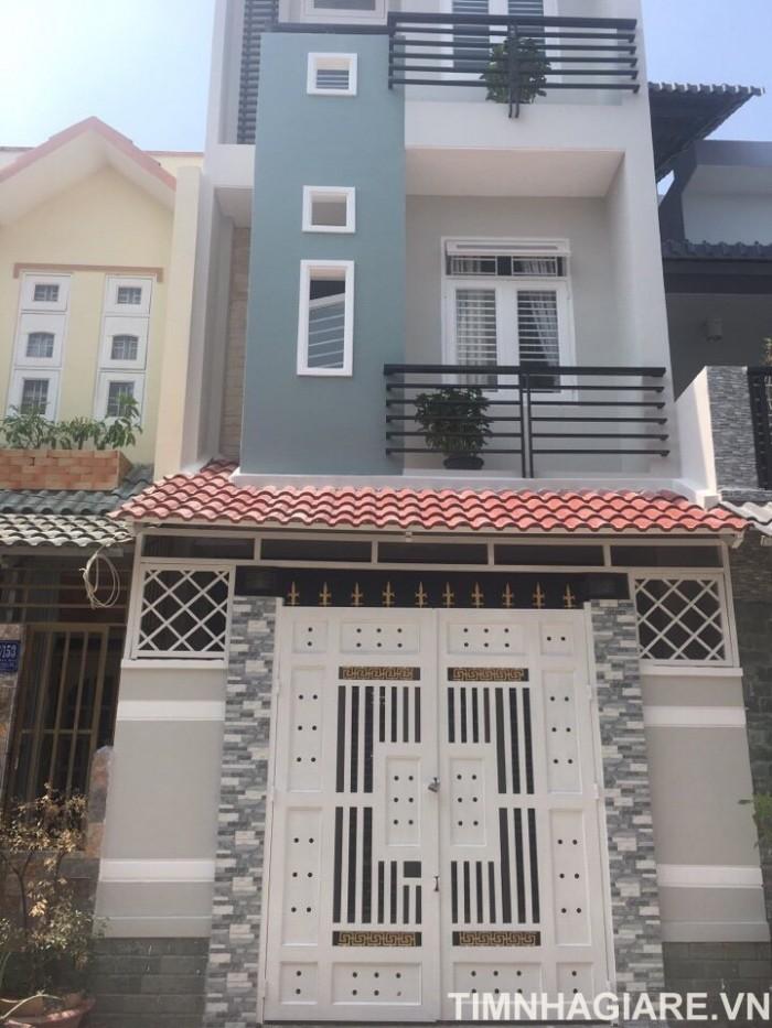 Bán nhà hẻm 1886 Huỳnh Tấn Phát, Trung tâm Thị Trấn Nhà Bè Tp.HCM. DT 180m2, 2 lầu 4PN