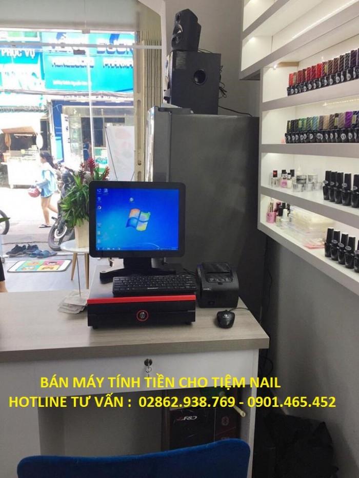 Bán Máy Tính Tiền Cảm ứng cho Tiệm Nail3
