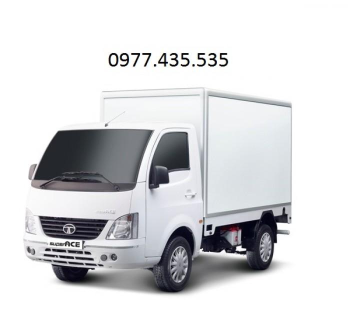 mua xe tải tata 1t25 thùng kín inox 3