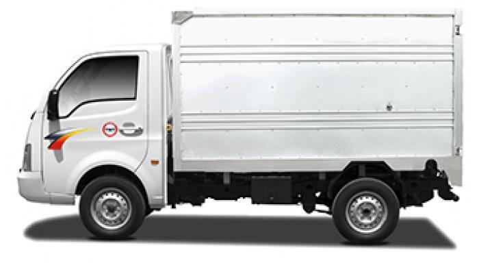 mua xe tải tata 1t25 thùng kín inox 13