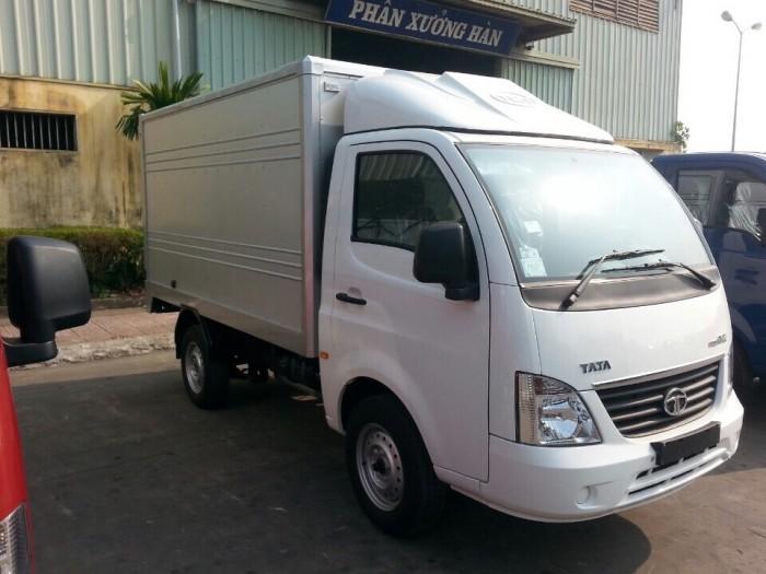 mua xe tải tata 1t25 thùng kín inox 5
