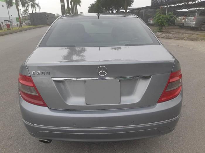 Bán Mercedes C200 2008 avangate tự động màu bạc xe chính chủ.