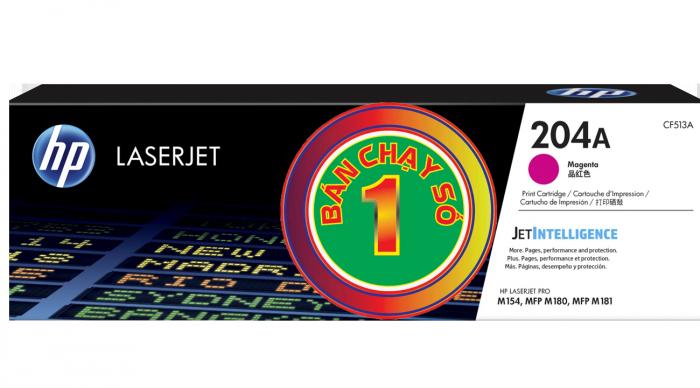 Sử dụng mực in HP Color 204A chính hãng sẽ mang đến bạn những bản in tài liệu chuẩn xác, độ phân giải cao, hiển thị văn bản hay hình ảnh rõ ràng.2