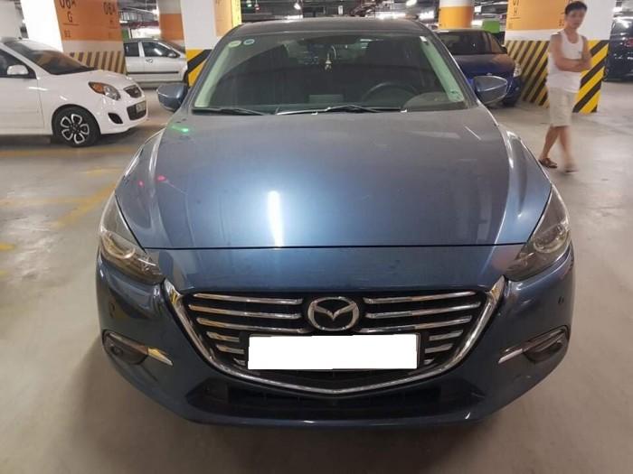 Do không có nhu cầu sử dụng cần bán Mazda3 đk 8/2017, số tự động, màu xám xanh. 3