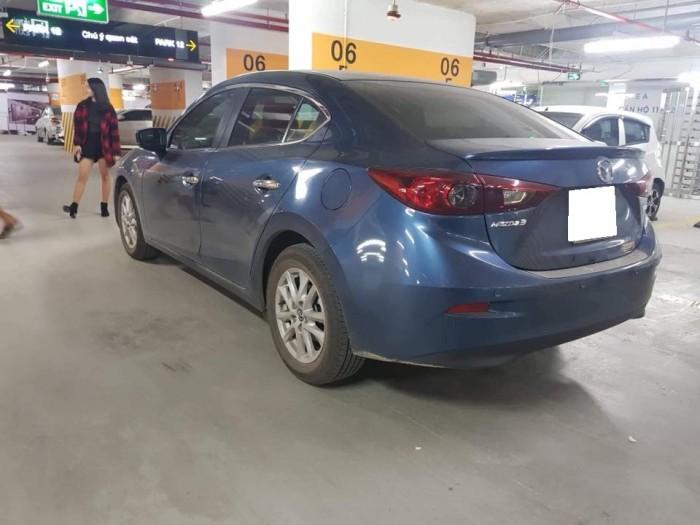 Do không có nhu cầu sử dụng cần bán Mazda3 đk 8/2017, số tự động, màu xám xanh. 2